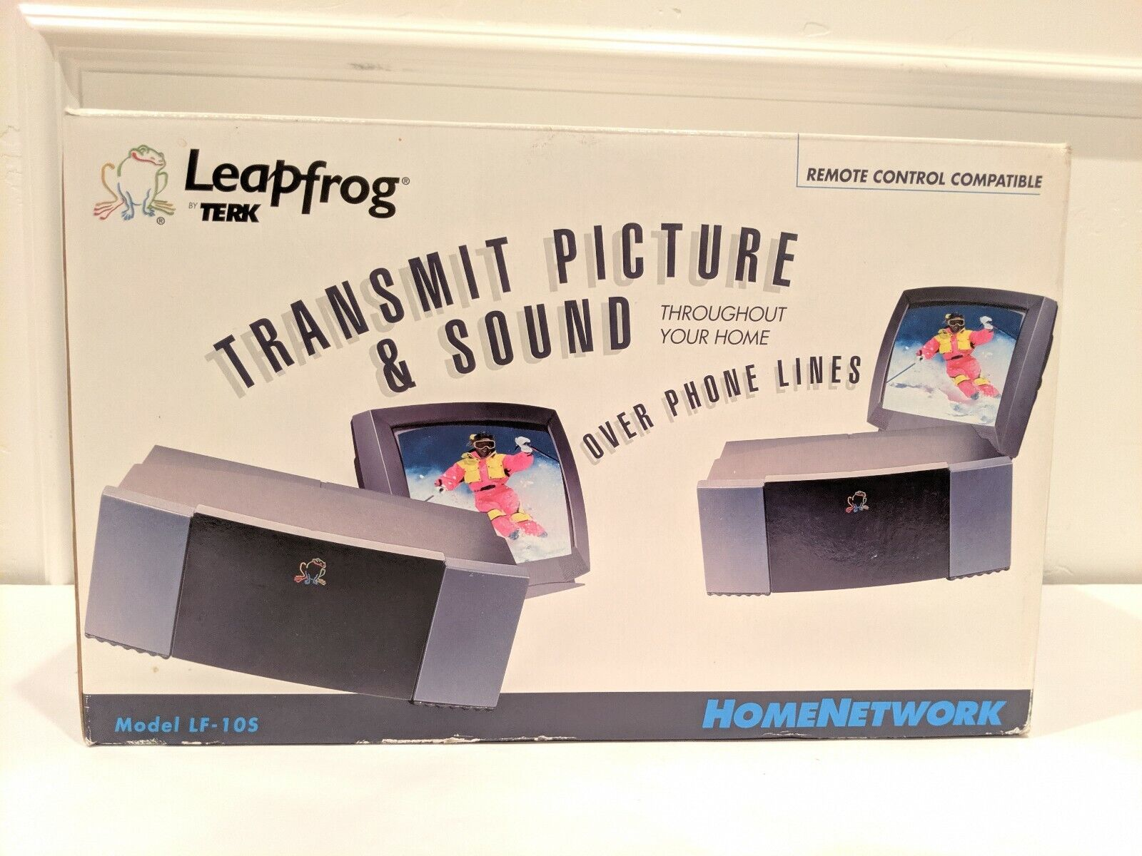 Leap Frog Transmitting System New In Box By Terk In Perfect Condition Jahr...
