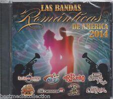 Bandas Mas Romanticas 2014 CD NEW El Recodo Recoditos Carnaval y Mas NUEVO