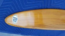 Vintage & Rare Wood Water Ski Cut N Jump Brand Maherajah Cleanest one out there!