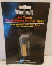 Bernzomatic Jet Torch Pencil Flame Burner Head Jt 681 New In Package