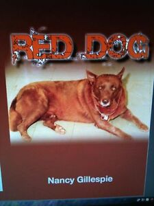 Red Dog Book by Nancy Gillespie + Free Red Dog Australia Bumper Sticker