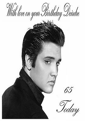 Country music birthday cards collection on ebay personalised birthday card elvis presley any age name or relation bookmarktalkfo Gallery