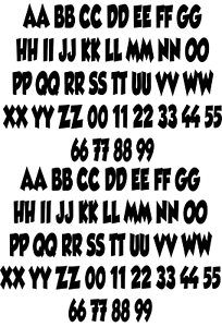 81dd25835ea27 Image is loading Alphabet-Bold-Cartoon-Font-Style-Iron-On-Transfer-