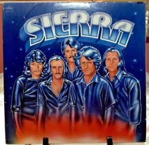 SIERRA-Self-Titled-Album-Released-1977-Vinyl-Record-Collection-US-pressed