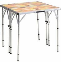 Coleman Packaway 4-in-1 Portable Mosaic Camping Tailgating Outdoor Picnic Table on sale