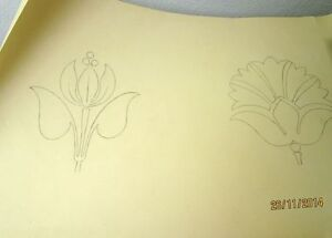 Rosina-Zellner-Drawing-Flowers-hand-signed-dated-to-1904