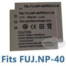 2pcs New Battery For Panasonic CGA-S004E/Fuji Film NP-40/Pentax D-Li8 Camera