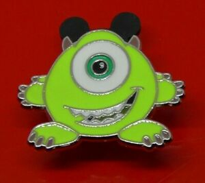 Small-Used-Disney-Enamel-Pin-Badge-Mike-Character-Monsters-Inc
