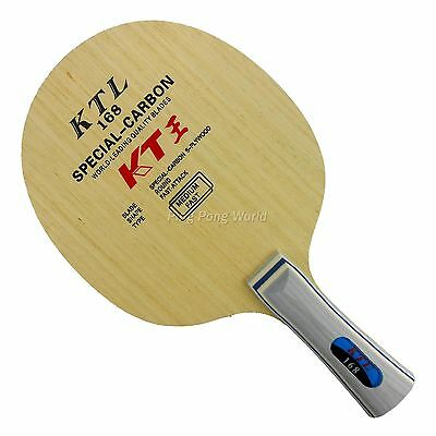 KTL 168 Special-Carbon Fast-Attack Table Tennis Blade Long Shakehand FL