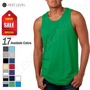 Next Level Premium Tank Top Men/'s Cotton Jersey  GYM Athletic NL3633 casual TANK