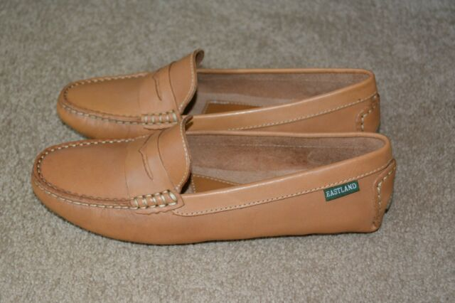 Eastland Patricia Camel Womens Leather