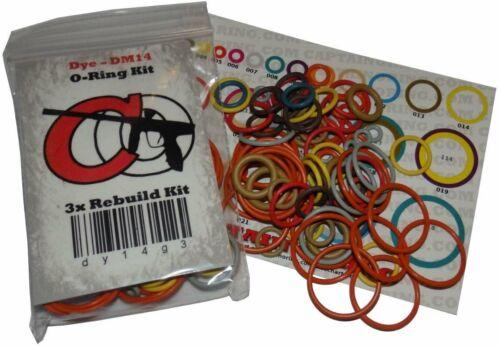 Captain O-Ring MacDev Prime Color Coded 3X Oring Rebuild Kit