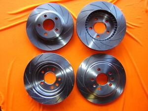 SLOTTED-FULL-VEHICLE-SET-Holden-Commodore-VT-VU-VY-VX-VZ-Disc-Brake-Rotors-NEW