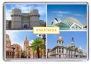 Spain Fridge Magnet 01 VALENCIA