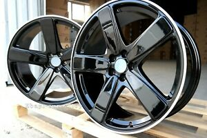 4x21-inch-5x112-Wheels-For-Porsche-MACAN-Car-Black-Alloy-Concave-Rims-New