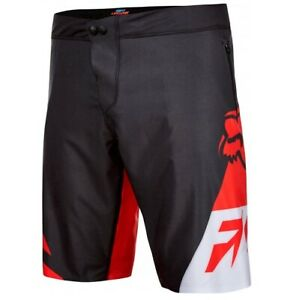 Fox Livewire MTB Shorts 2016 Red//Black Size 34