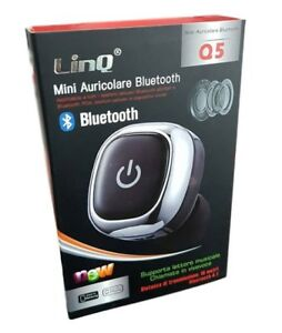Bluetooth Tablet Linq Smartphone Q5 Auricolare 4 1 Micro Cuffia Mini Musica 8ZqwpPtvW