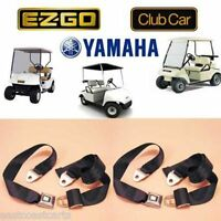 Universal Golf Cart Seat Belt / Lap Belt (2) Seat Belts