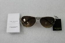 bed76efaad item 1 Ted Baker London Carter Aviator Sunglasses 1166 402M + Case Gold Brown  (11LA3) -Ted Baker London Carter Aviator Sunglasses 1166 402M + Case ...
