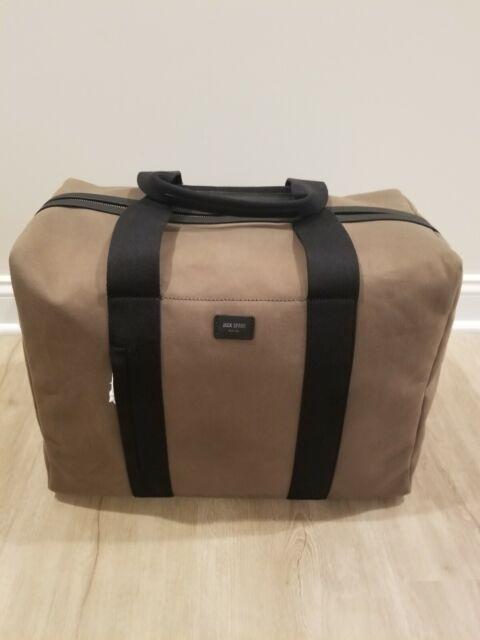 2cb45be7e2d Jack Spade Mens Surf Canvas Duffle Bag Weekender Dockside Green One Size