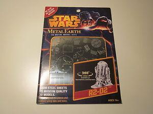 R2-D2 Star Wars 3D Model Kit Steel Laser Cut MMS250 - Metal Earth NEW Authentic