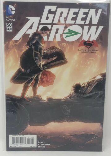 Green Arrow #50 Variant Batman v Superman D.C Universe Comics New