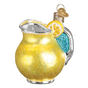 034-Lemonade-034-32324-X-Old-World-Christmas-Glass-Ornament-w-OWC-Box