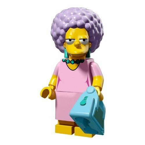 New Patty Bouvier Lego Simpsons Minifigure Series 2