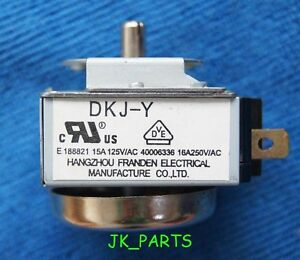 DKJ-Y 60 Minutes Delay Timer Switch For Electronic Microwave Oven neHC