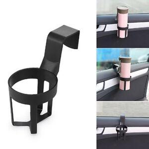 Black-Universal-Car-Truck-Drink-Water-Cup-Bottle-Can-Holder-Door-Mount-Stand-S