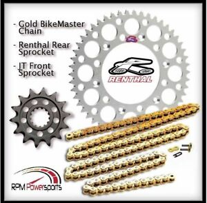 Renthal-Silver-Sprocket-and-Gold-Chain-Kit-Suzuki-Rmz450-Rmz-450-2005-12-14-52T
