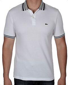 f8c3a3ad7775e Lacoste Men s Semi Fancy Pique Polo Shirt Short Sleeve PH0083-51 001 ...
