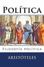 Politica : Filosofia Politica by Aristoteles (2016, Paperback)