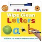 Wipe Clean Letters by DK (Board book, 2007)