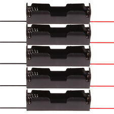 Heiße schwarze Batterie-Halter-Aufbewahrungsbehälter-Kasten für 18650 Akku Hot