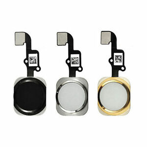 purchase cheap 940ec b4d7b For iPhone 6 and 6 Plus Touch ID Sensor Home Button Key Replacement ...