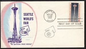 1962-Seattle-World-039-s-Fair-Sc-1196-30-NW-Envelope-1st-cachet