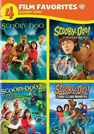 Scooby Doo 4 Film Favorites Dvd 2014 4 Disc Set For Sale Online Ebay