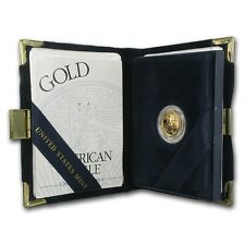 2001-W 1/10 oz Proof Gold American Eagle Coin - Box and Certificate - SKU #5981