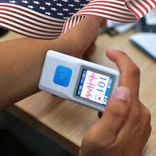 Contec Pm10 Portable Ecg Ekg Machine Heart Beat Monitorusbbluetoothlcd Fast