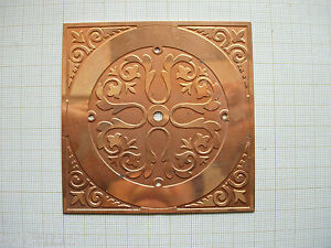 Ebauche cadran cuivre de pendulette dial Uhr-pendule clock mm Zifferblatt 7EJxjo9c-07223701-477521890