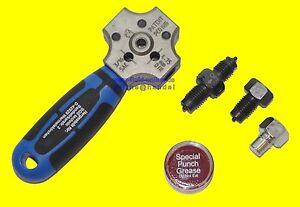 "BGS 8918 Bördelgerät 4,75mm 3//16/"" DIN SAE Bördelung Bremsleitung Bördel Werkzeug"