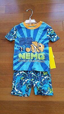 NEW Finding Dory movie 2 pc Sleepwear pants Set Kids Nemo Disney World Pajamas