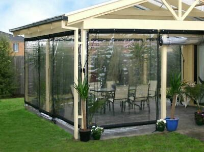 Waterproof Commercial 0 5mm Pvc Clear Awning Canopy Patio