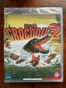 Killer-Crocodile-2-Blu-ray-Italian-Cult-Horror-Movie-88-Films-BNIB