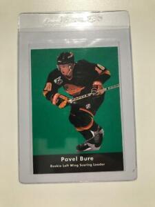 1991-92-PAVEL-BURE-Parkhurst-League-Leader-Rookie-Card-446
