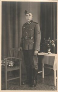 Echtfoto-eines-Soldaten-aus-dem-2-Weltkrieg-1939-bis-1945