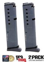 2 Pack Promag Ruger Lcp.380 Acp 10r Magazine W/ Floorplate Steel Blue Rug14