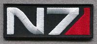 Mass Effect N7 Tactical Combat Milspec 3.5 Inch Hook Patch