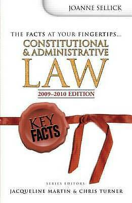 Sellick, Jo : Key Facts: Constitutional & Administrati